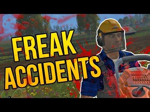 FREAK ACCIDENTS – Farming Simulator 2015 Funny Moments (Farming Simulator 15 Gameplay PC)