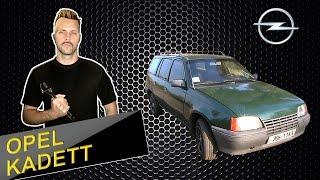 Opel Kadett (e) тест драйв