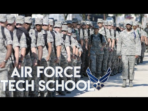 Air Force Tech School | My Experience At Keesler AFB - YouTube