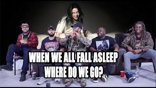 Billie Eilish - WHEN WE ALL FALL ASLEEP WHERE DO WE GO Full Album Reaction/Review