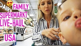 Einkaufen im Supermarkt in Amerika 🇺🇸 | Was wir hier alles essen! | LIVE-HAUL | PelicanBay