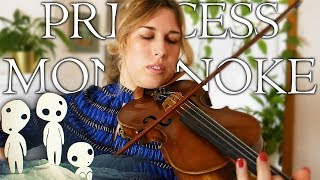 VIOLIN COVER | Princess Mononoke Legend of Ashitaka Official Soundtrack OST Music