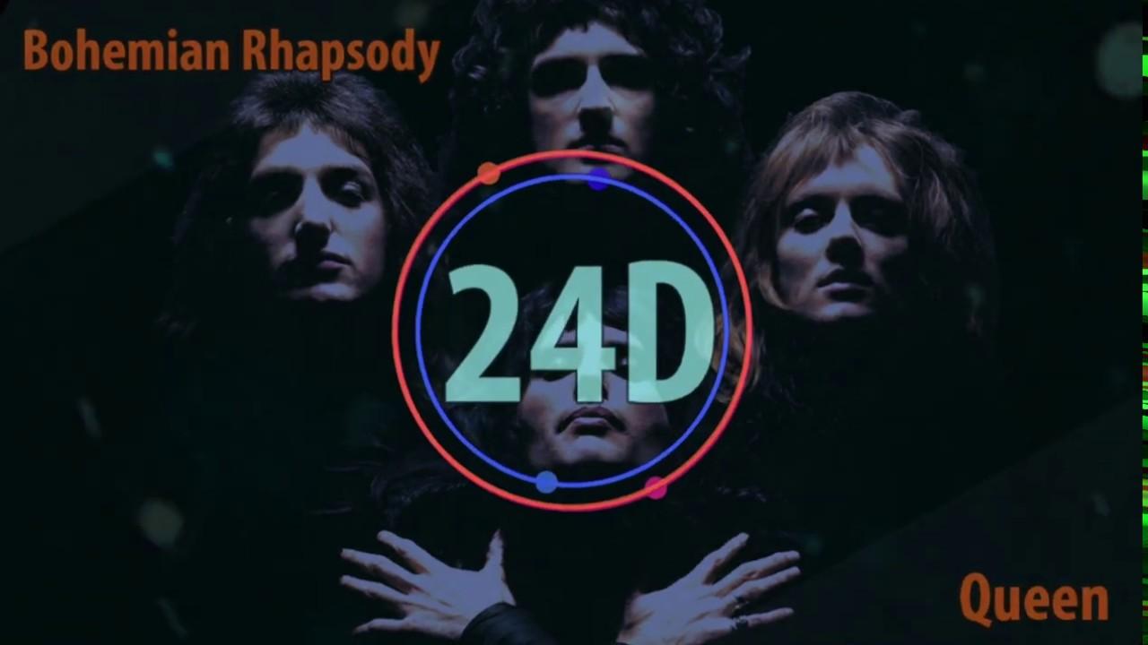 Queen - Bohemian Rhapsody (24D AUDIO)🎧   (Lyrics)