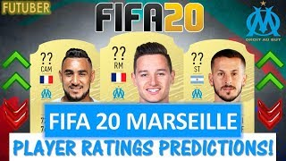 FIFA 20   MARSEILLE PLAYER RATINGS!! FT. THAUVIN, PAYET, BENEDETTO ETC... (FIFA 20 RATINGS)