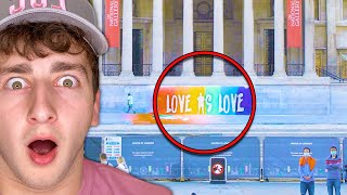 GREATEST PRIDE MURAL OF ALL TIME… | Brandon Baum #Shorts