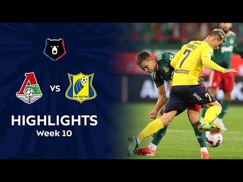 Lokomotiv Moscow Rostov Goals And Highlights