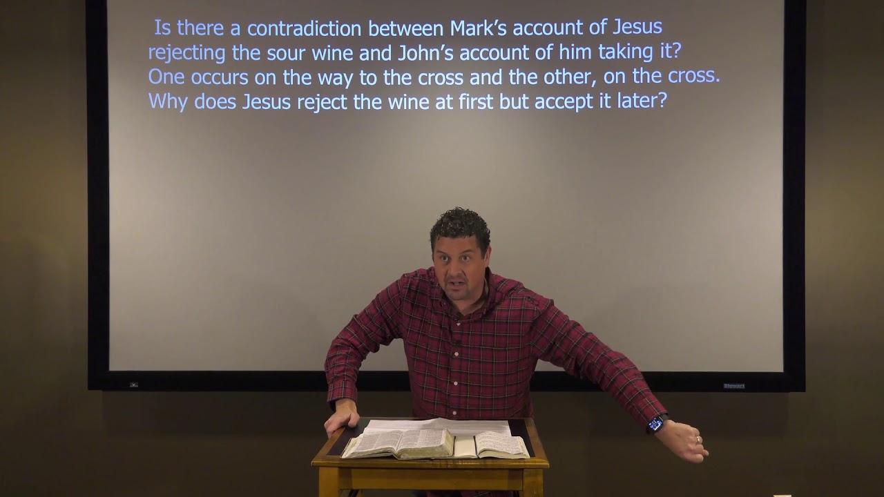 Studies in John - #121: Jesus Drank the Sour Wine