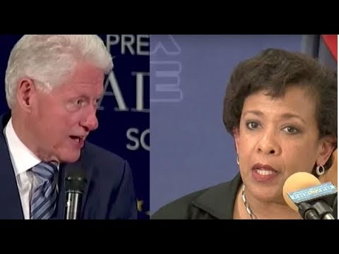 JUSTICE IS SERVED! WHAT THE FBI JUST ANNOUNCED HAS BILL CLINTON AND LORETTA LYNCH SWEATING BULLETS!