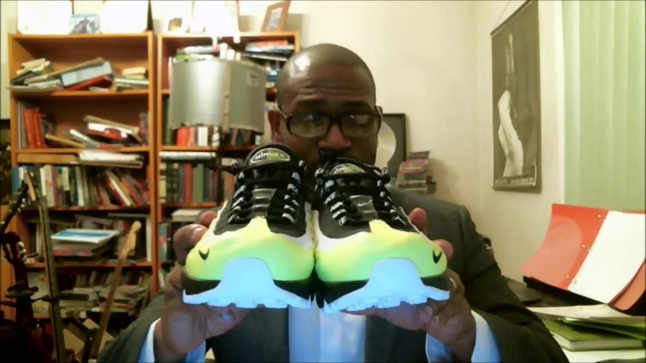 buy online cadfb 9c9eb Nike Air Max 95 PRM Volt Black-Volt Glow 538416-701   Authentic Verification