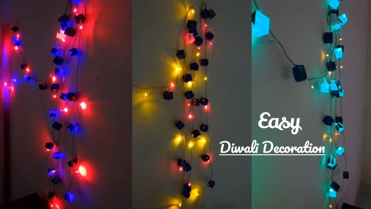 Light Decoration Diwali Diwali And Christmas Decoration Idea How To Enhance Your Led Lights