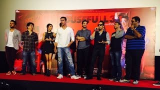 Akshay Kumar Funny Interview 2016  Taang Uthake Song Launch  Housefull 3