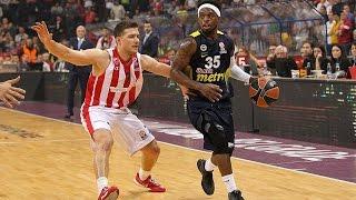 Highlights: Crvena Zvezda Telekom Belgrade-Fenerbahce Istanbul