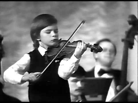 Kirill Troussov (age 7) plays Mozart Violin Concerto No.3