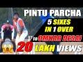 Pintu Hit 5 Six in one Over to Omkar Desai