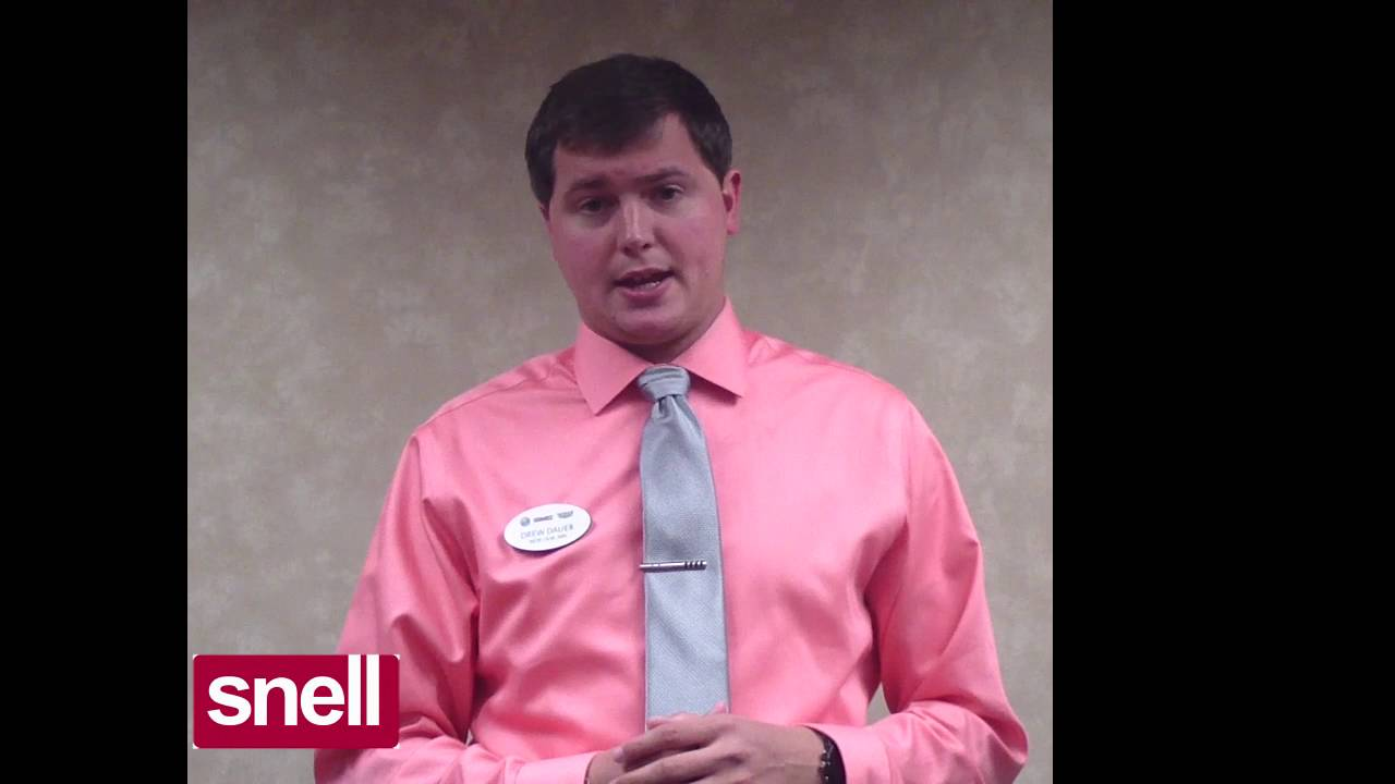 Snell Motors Mankato Mn >> Drew Dauer - Sales Consultant at Snell Motors - YouTube