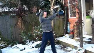 Winter Kettlebell Blast: 3 Minute Circuit