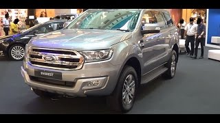 Ford Everest 2.2L Trend 2WD 2016 Exterior & Interior