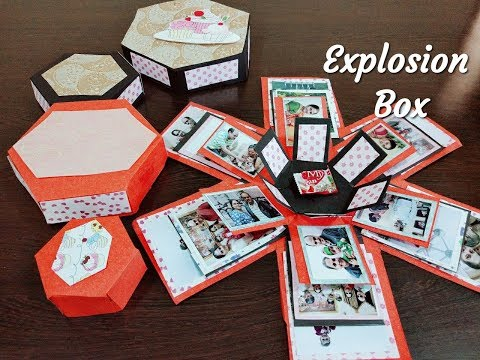 Explosion box | Paper craft idea