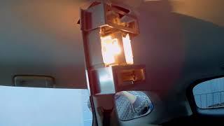 Мицубиси аутлендер делаем свет в салоне