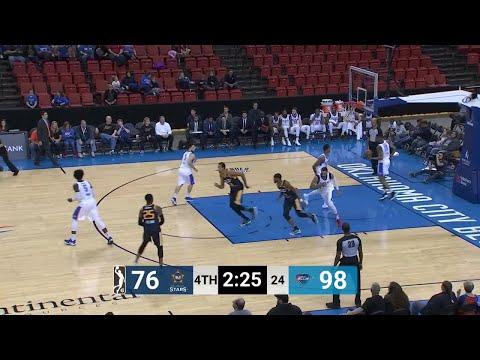 Naz Mitrou-Long (24 points) Highlights vs. Oklahoma City Blue
