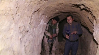 حصريا | #داعش يسرق قصرا آشوريا تحت مرقد النبي يونس في #الموصل