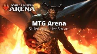 MTG Arena | Magic The Gathering Arena | Building Mono B | Quick Constructed Mono Black Deck Gameplay