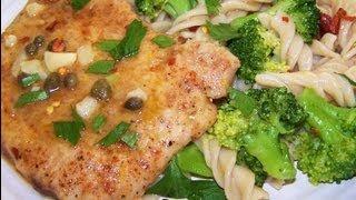 How To Make Pork Piccata With Lemon Broccoli Pasta