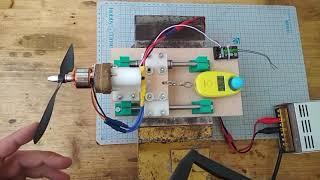 Випробування двигуна BLDC A2212 і DIY стенд.
