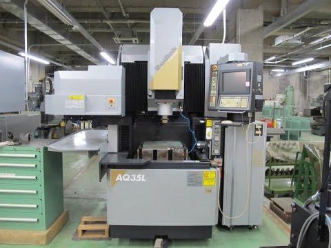 23205 NC放電加工機(ATC付) ソディック AQ35L 2003年