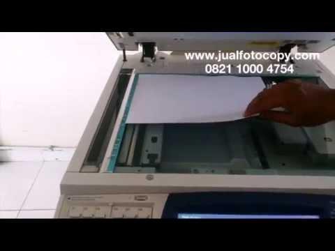 Tutorial Cara Fotocopy Bolak Balik dari Kaca / Platen Fuji Xerox