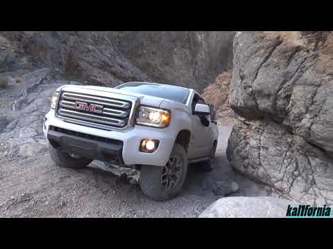 GMC Canyon Diesel Death Valley 4x4