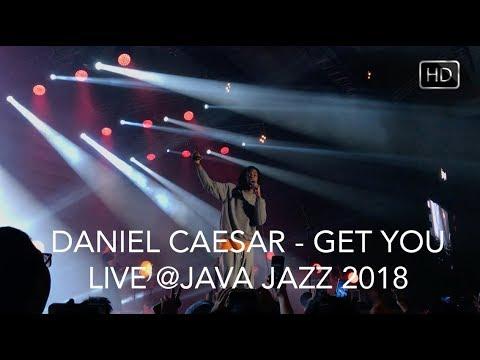 Daniel Caesar - Get You (Live in Jakarta) HD #JJF2018
