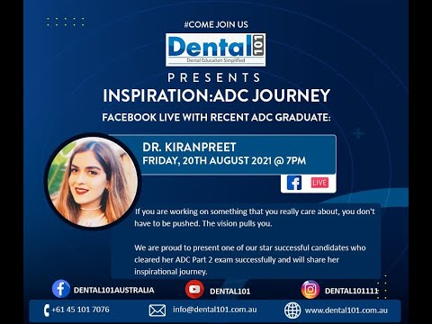 Dr  Kiranpreet : ADC Exam preparation Journey