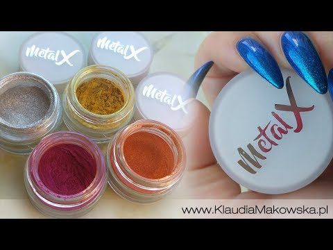 Pyłki MetalX marki SPN Nails