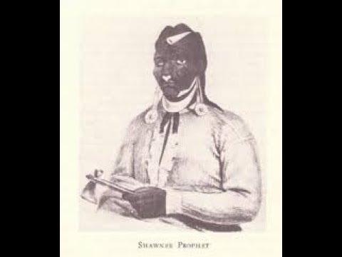 Indiana Territory, Shawnee Warrior Tecumseh, The Prophet Tenskwatawa 1809