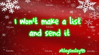Download Miley Cyrus - All I Want For Christmas Is You (with lyrics) MP3 song and Music Video