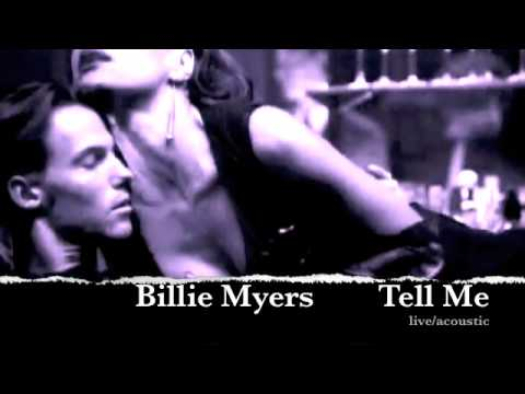 "Billie Myers ""Tell Me"" Acoustic Version"