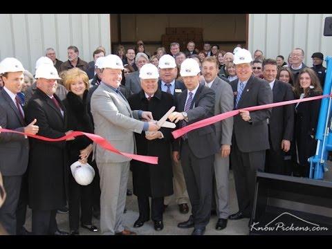 ORLACO Ribbon Cutting with GA Governor Nathan Deal
