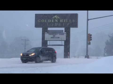 Black Hills Winter Storm Brings Blizzard Warnings To The Black Hills
