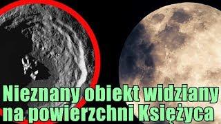 Dziwny obiekt w księżycowym kraterze. Anomalia czy pareidolia?