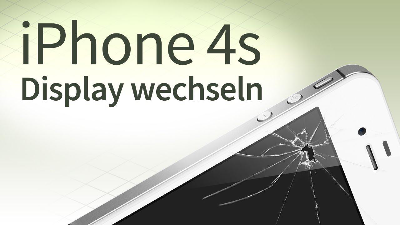 iphone 4s display wechseln deutsche anleitung tutorial. Black Bedroom Furniture Sets. Home Design Ideas