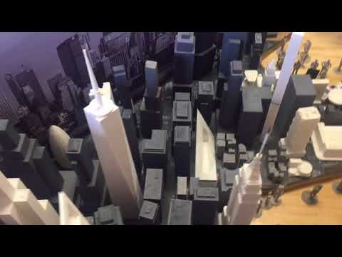 A look inside the proposed Extreme Model Railroad and Contemporary Architecture Museum in North A...
