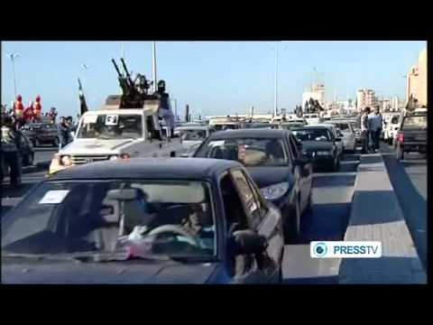 Thousands come out in Benghazi demanding Shariah Law to be implemented in Libya - June 2012