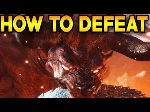 Monster Hunter World: HOW TO DEFEAT BEHEMOTH IN MONSTER HUNTER WORLD - FULL IN DEPTH GUIDE! thumbnail