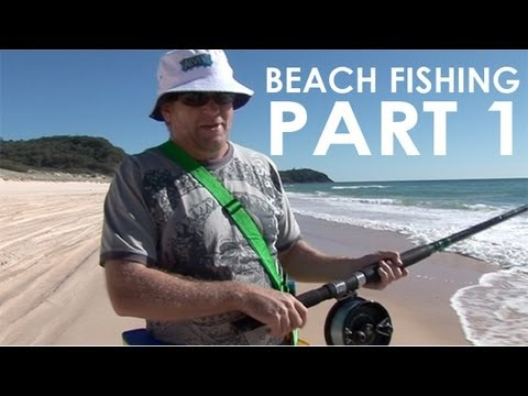 Beach Fishing With Alvey Part One
