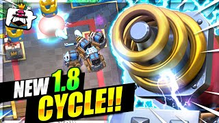FASTEST SPARKY DECK IN CLASH ROYALE HISTORY!! 1.8 CYCLE!! THIS IS INSANE!! 😱
