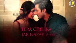 Tera Chehra (Lyrics Video) - Arjit Singh | Sanam Teri Kasam | Latest Hindi Romantics Song 2018