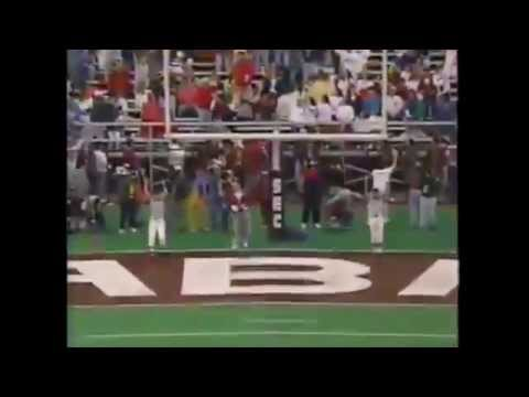 1993 SEC Championship Game - #9 Florida vs. #16 Alabama Highlights