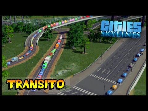 Transito pior que São Paulo - Cities Skylines #05