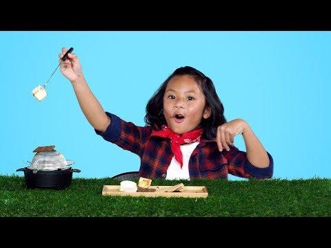 Kids Try Backpacking Food | Kids Try | HiHo Kids